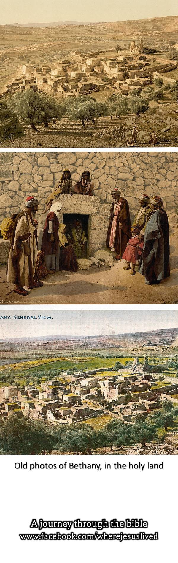 Old Photos Of The Biblical Village Of Bethany East Of Jerusalem In The Holy Land Click On The Pin To Join Our Pict Holy Land Holy Land Israel Jordan Travel