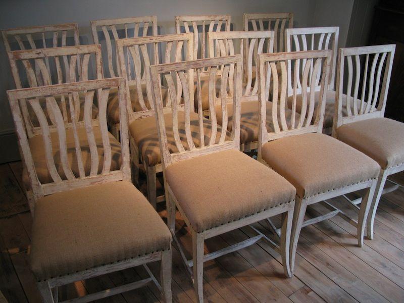 Set of Twelve Antique Painted Swedish Dining Chairs - Furniture - Set-of-twelve-antique-painted-swedish-dining-chairs-54-L.jpeg (800