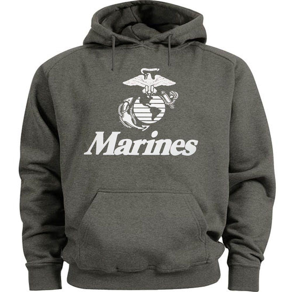 USMC sweatshirt hooded men/'s hoodie us marine corps sweat shirt hoody jumper