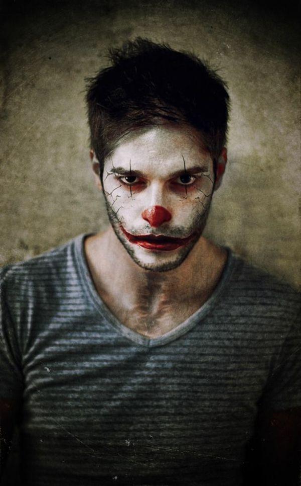 Quatang Gallery- Idee De Maquillage Pour Halloween Ou Comment Faire Peur A Vos Amis Maquillage Halloween Maquillage Halloween Homme Maquillage Clown Homme