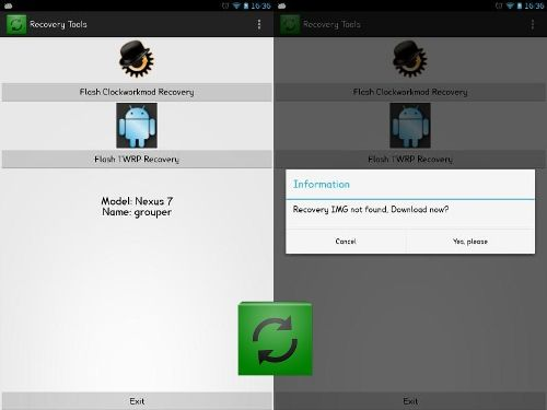 Install CWM Recovery & TWRP on Samsung, LG, HTC, Asus