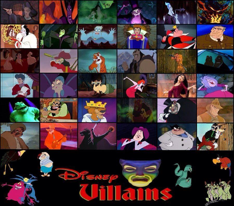Disney villians clio bow disney bad guys