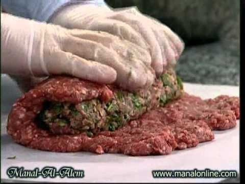 رول اللحم المحشي منال العالم Cooking Meat Recipes Russian Recipes