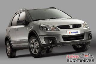 Por SÉRGIO HOLANDA...OFF ROAD 4X4: Novidades 4x4... Suzuki SX4 Mormaii