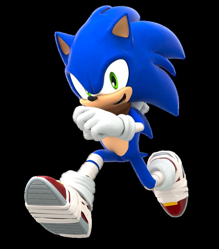 Sonic Boom Running Pose Upgraded By Finnakira Sonic Boom Running Pose Sonic