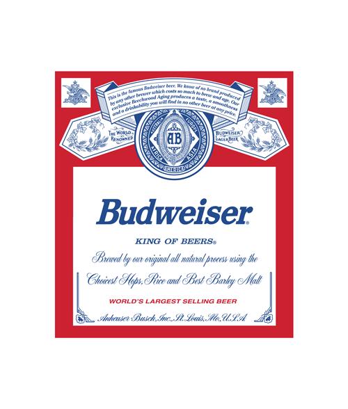 Bonestudio Net Custom T Shirts Store Budweiser Beer Logo Tumbler Decal