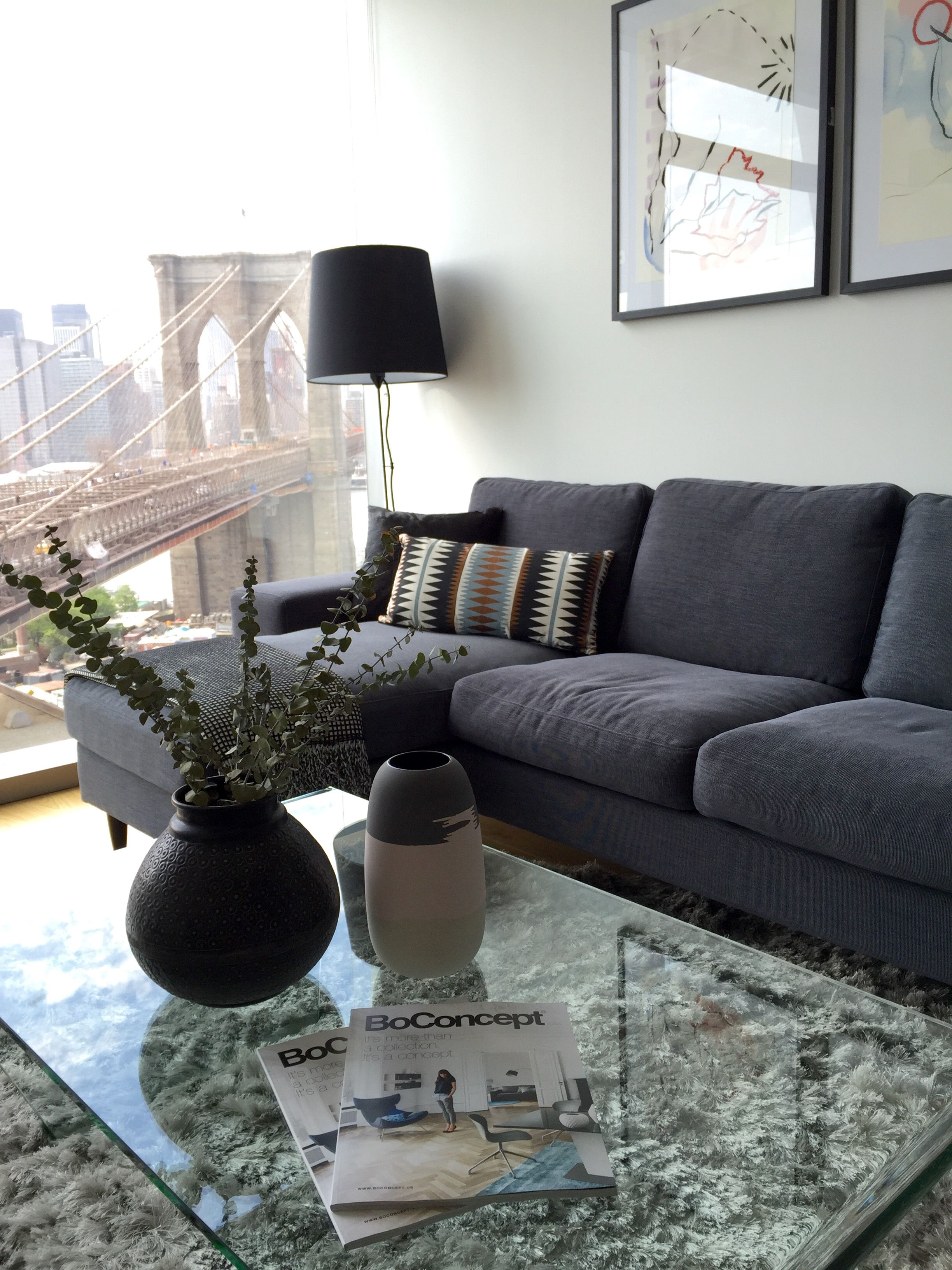 Brooklyn Apartment Fitted With BoConcept Furniture