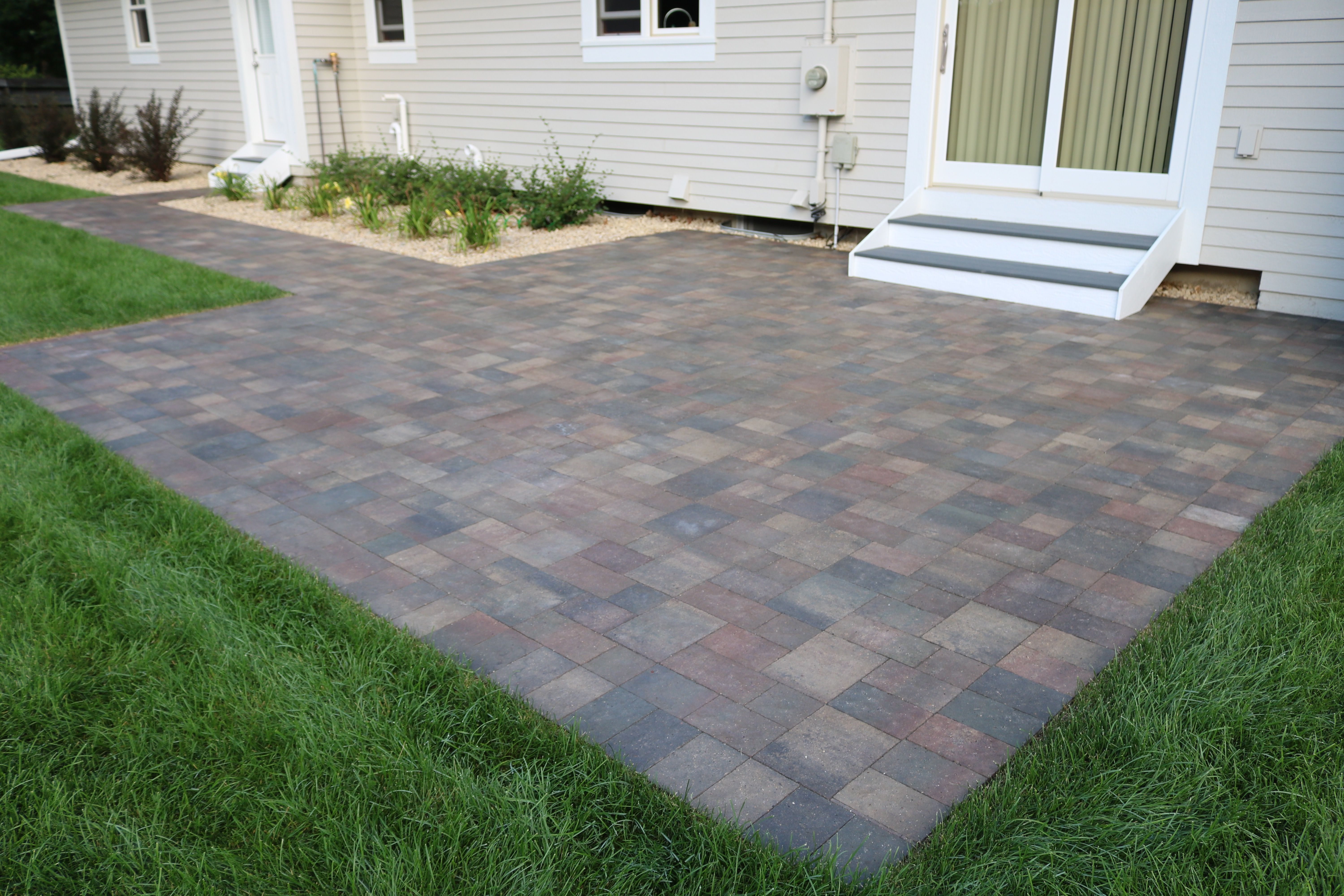 Sealing pavers by Maple Crest Landscape 2425 State Hwy 55