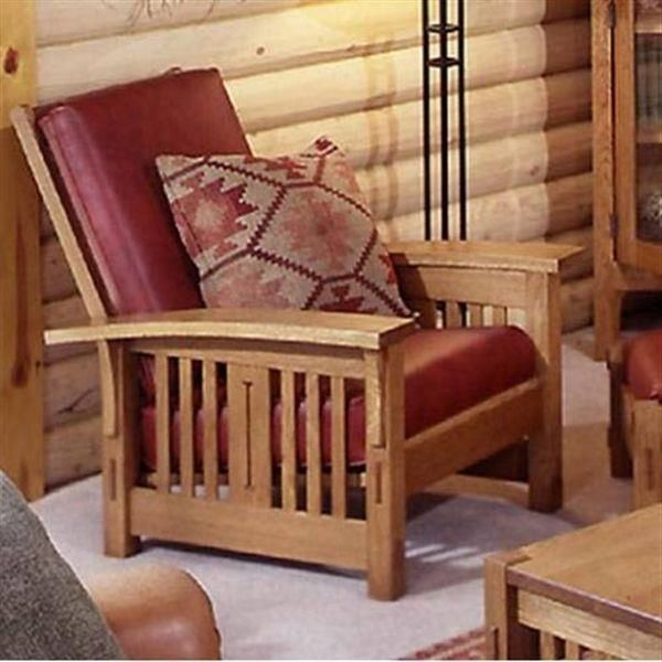 Build A Bow Arm Morris Chair In 2020 Furniture Furniture Plans