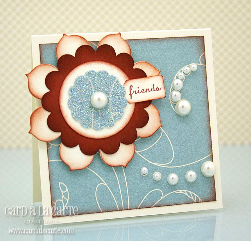 Card à la Carte: Quickie Mini Monday -- friends card