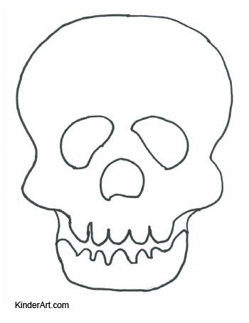 Printable skull mask day of the dead calavera skull mask blank coloring page