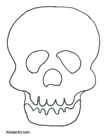 Printable Skull Mask