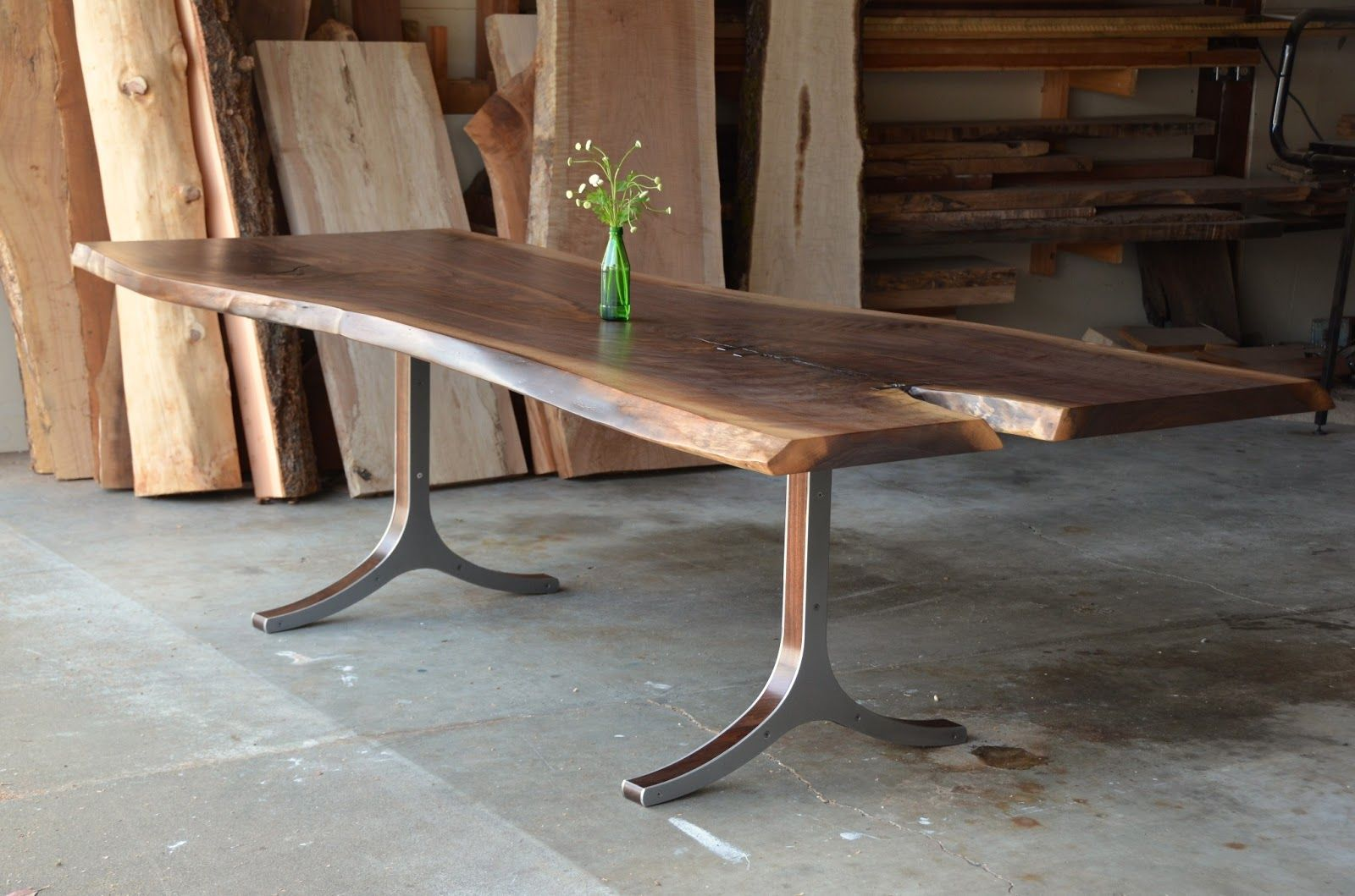 Perfect Raw Wood Table 61 With Additional Interior Decor Home With