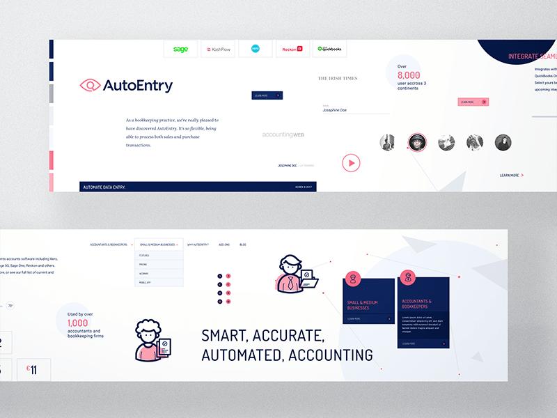 Stylescape Graphic Design: Stylescape For AutoEntry - Direction A