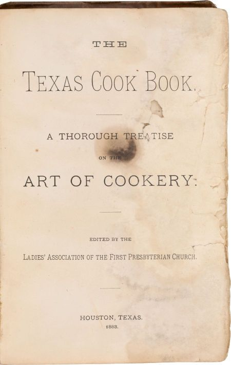 Books:Food & Wine, The Texas Cook Book.... Image #1