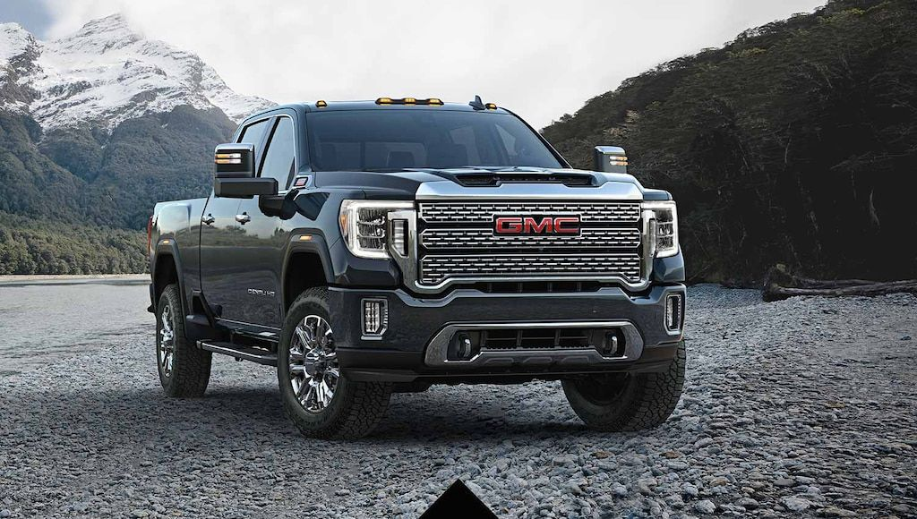 Gmc Lineup Trucks Suvs Crossovers And Vans In 2020 Gmc Pickup Trucks Gmc Gmc Denali