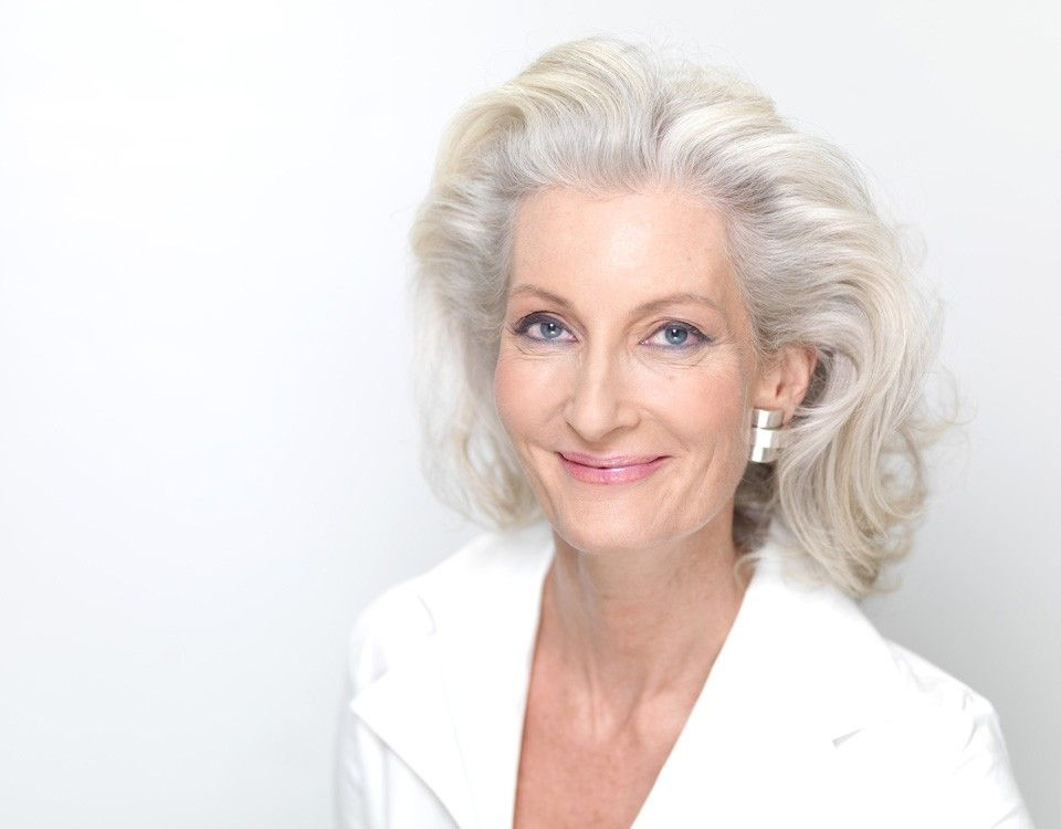 Catherine Loewe, A European Supermodel Over 60