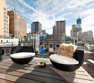 Fancy- Modern Rattan Outdoor Lounge