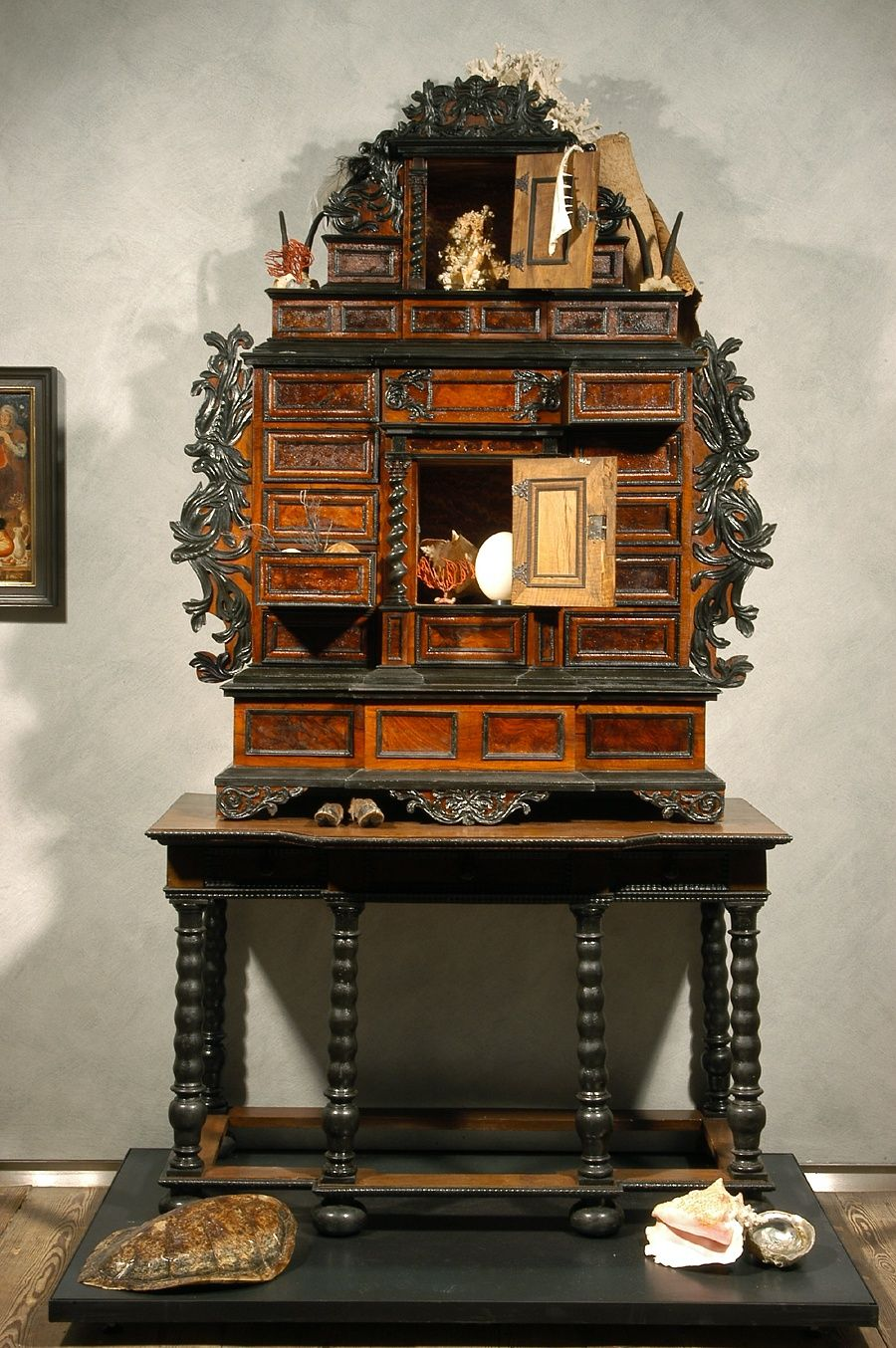 Wunderkammer Cabinet Of Curiosities Pinterest Antig Edades  # Wunderkammer Muebles