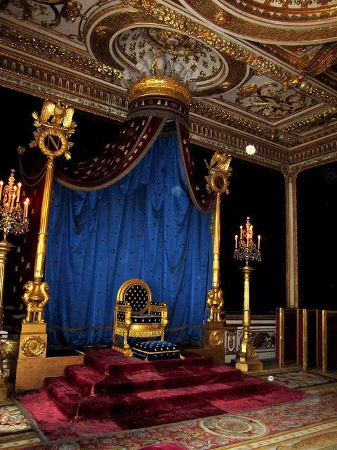 Medieval Castle Throne Room Chateau De Fontainebleau