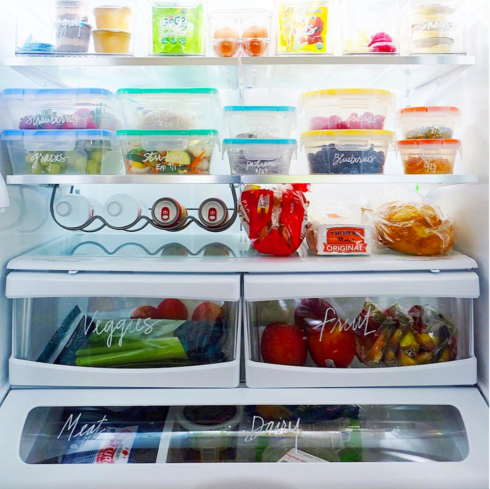 literally just photos of really organized refrigerators | Dry erase ...