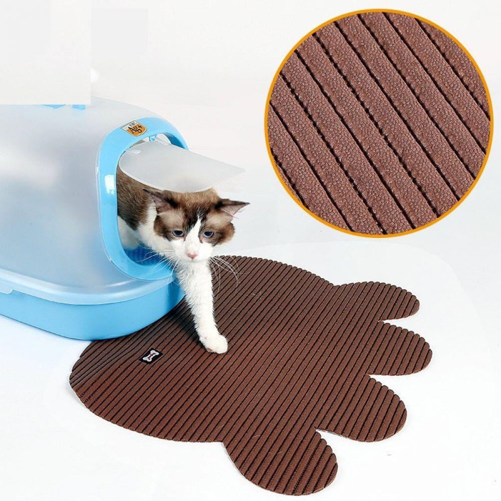 Non Slip Large Cat S Litter Mat In 2020 Cat Litter Mat Cat Mat Cat Litter