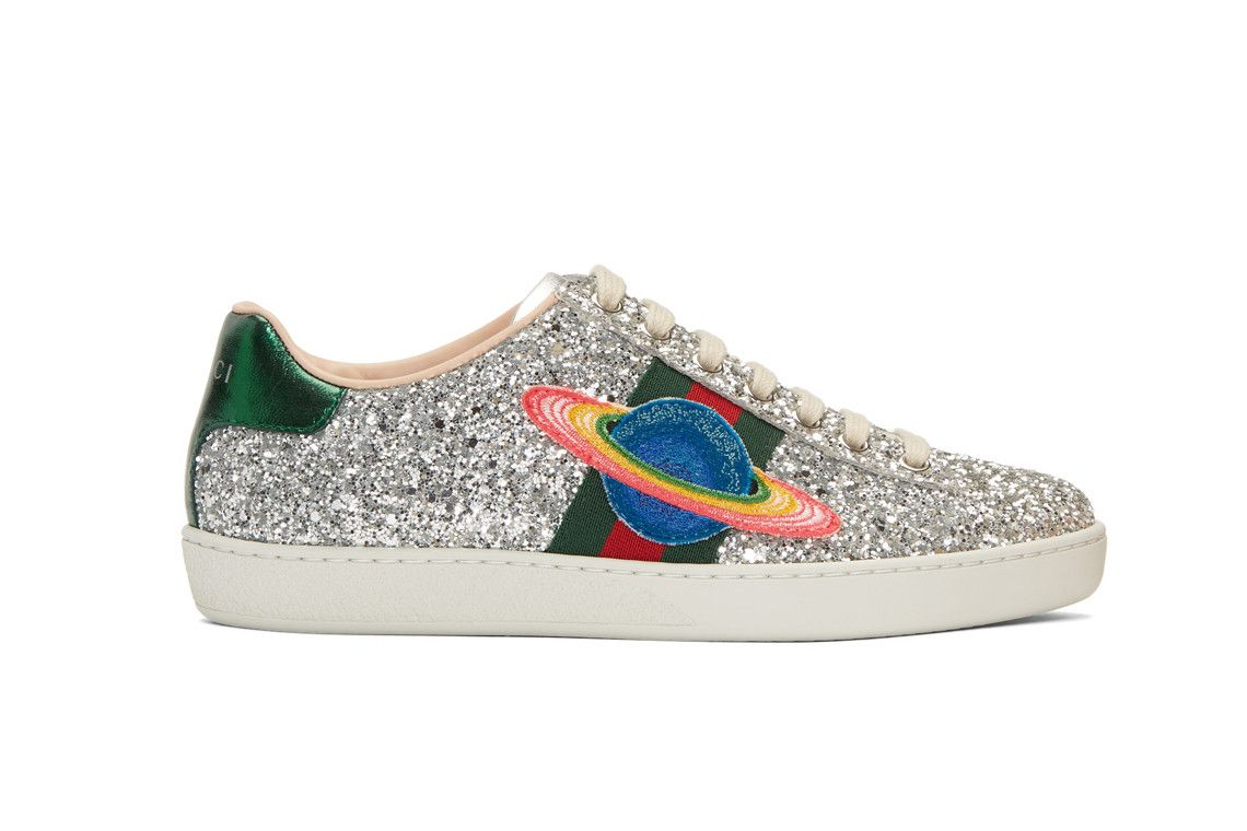Gucci's Glitter Ace Sneakers Are out of