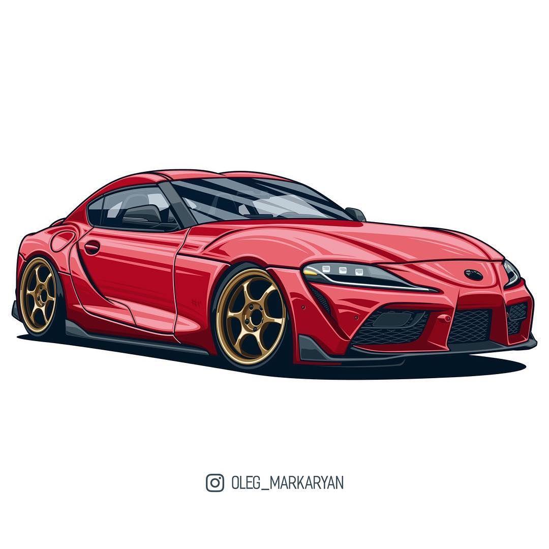 Image may contain: car | New toyota supra, Kei car, Art cars