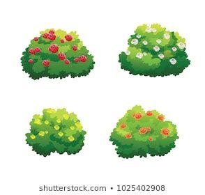 39+ Dibujos de arbustos ideas