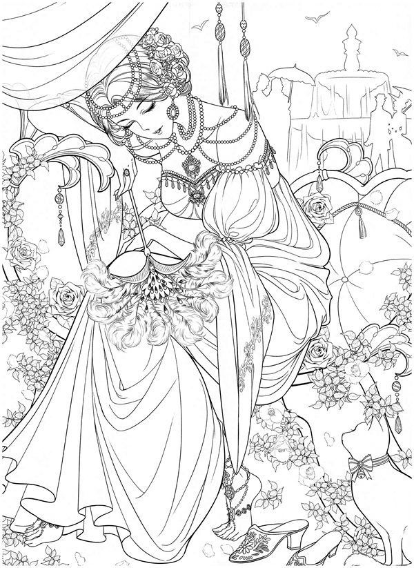 Download Masquerade Coloring Book | Detailed coloring ...