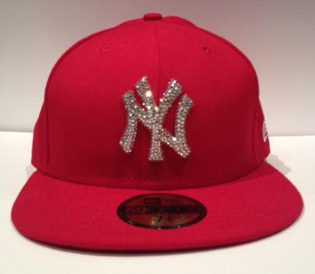 9645a37b4 Swarovski New Era Baseball hat. Featuring crystal team logo ...