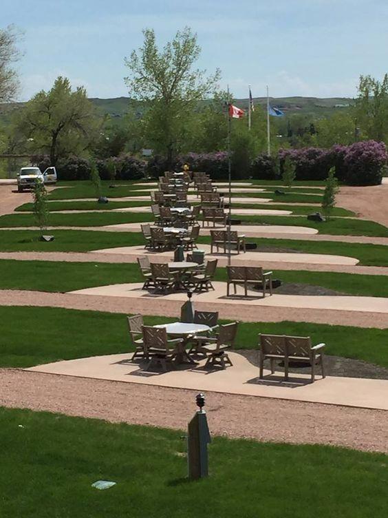 Brand New Rv Patio Sites At The Rapid City Black Hills Koa