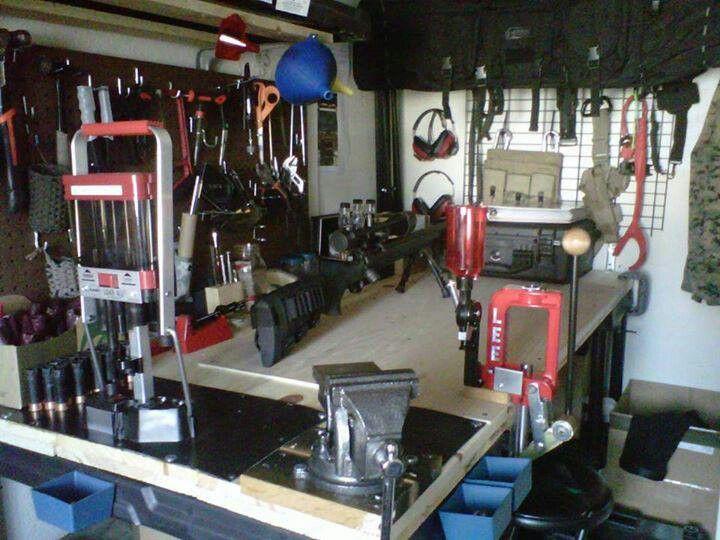 My Reloading Bench Reloading Room Reloading Bench Reloading Ammo