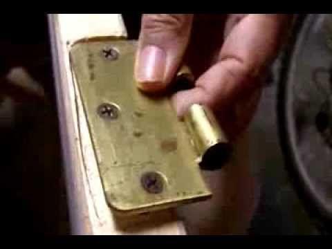Fix A Loose Door Hinge In 10 Minutes See Jane Drill Door Hinges 10 Things Hinges