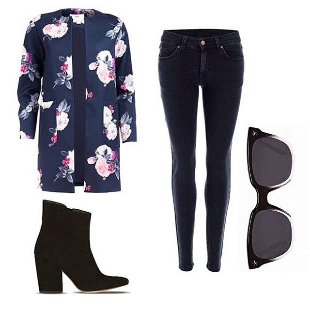 Stylish!   This entire outfit makes a statement on its own.   We especially love the Floral Coat...isn't it nice?!   Absolutely!   Visit www.LenMelekard.com/outfitideas.html for purchasing information.