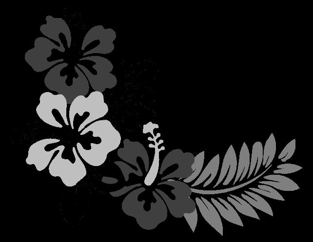 Flower Art Images Cloud Clipart Hawaiian Flower Drawing Flower Art Images Flower Drawing