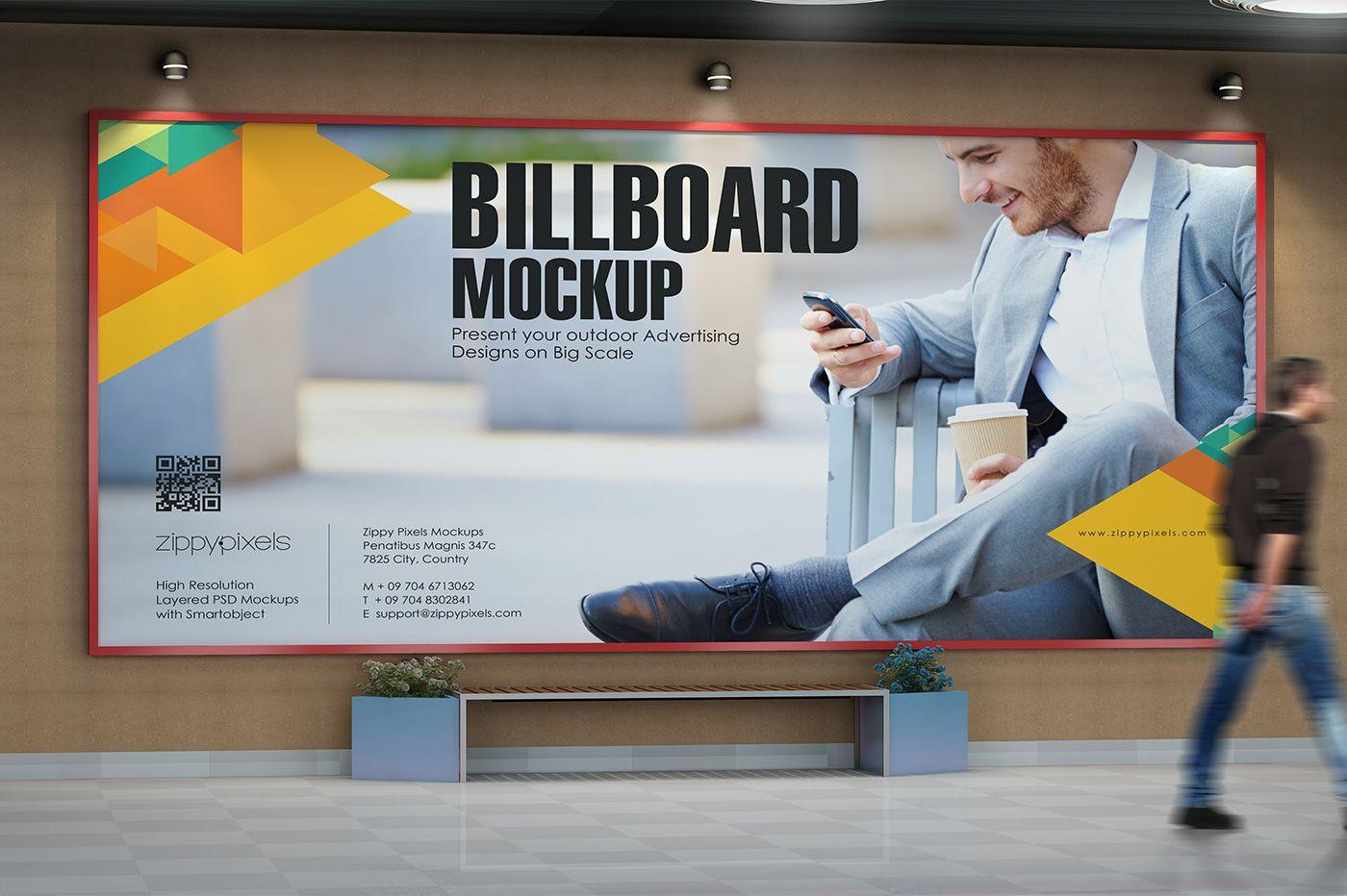 Outdoor Advertising Mockups Vol. 4