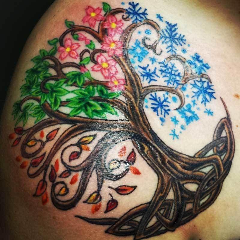 keltisch lebensbaum tattoo tattoo ideen lebensbaum. Black Bedroom Furniture Sets. Home Design Ideas