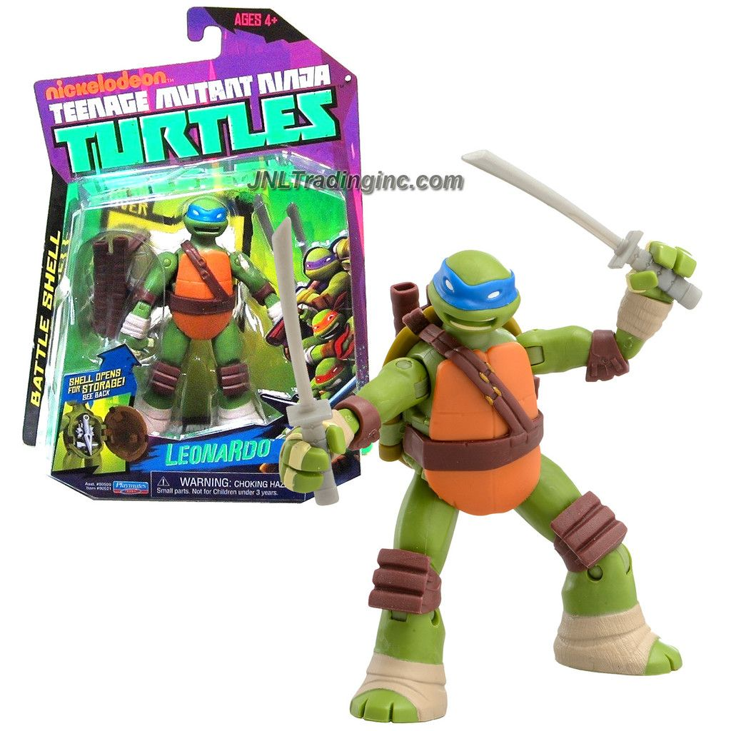 Playmates Teenage Mutant Ninja Turtles TMNT Battle Shell ...