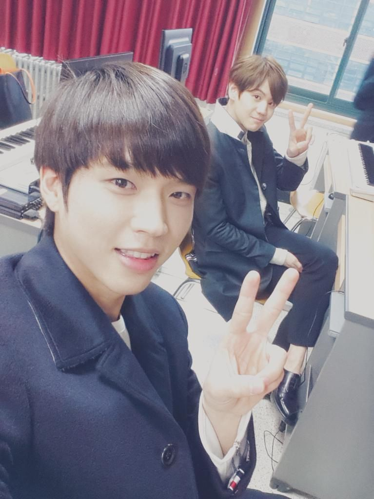 Woohyun and Yoseob