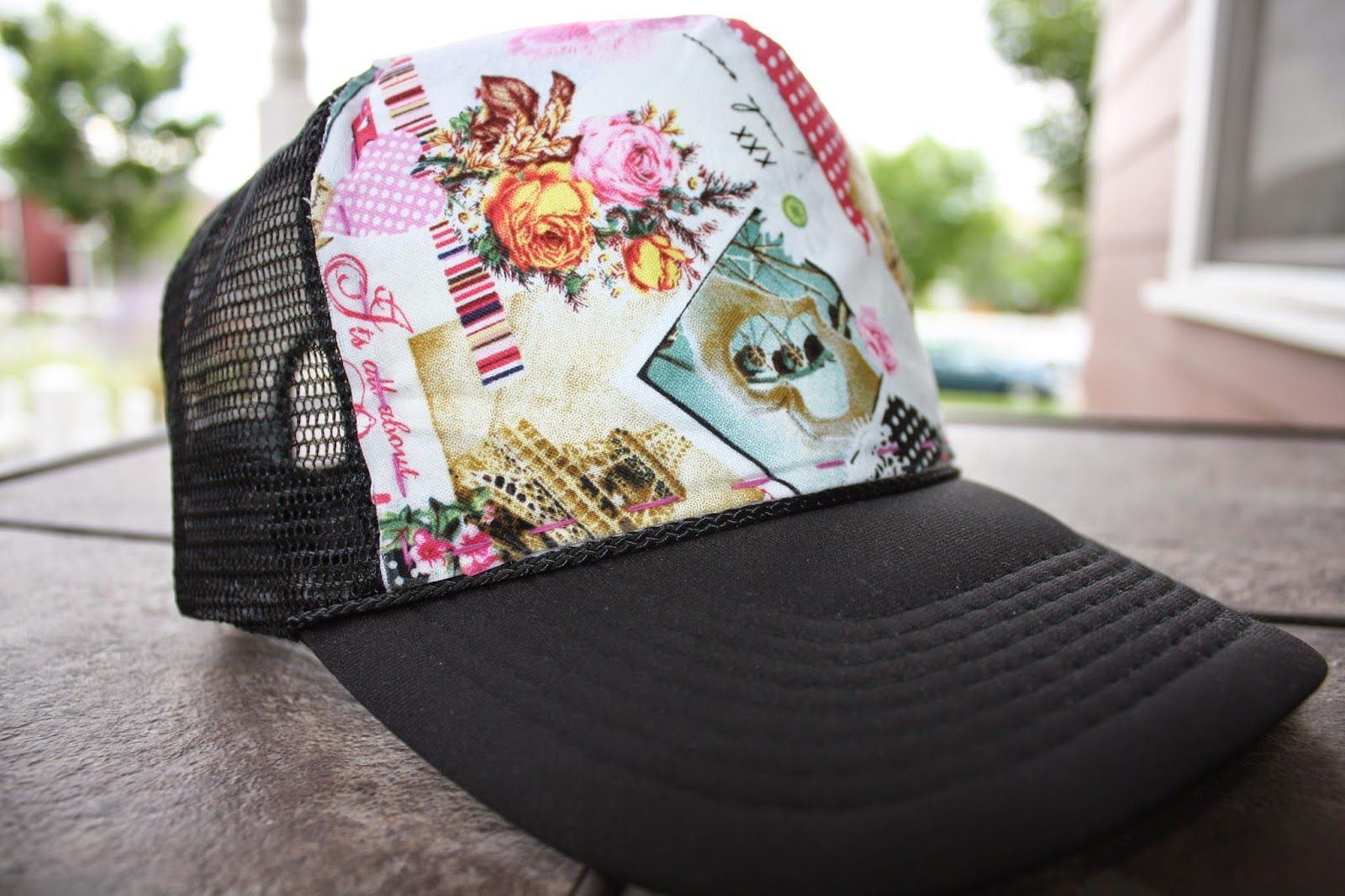 DIY Tutorial  How To Make A Trucker Hat Cover  cd8a2704b545