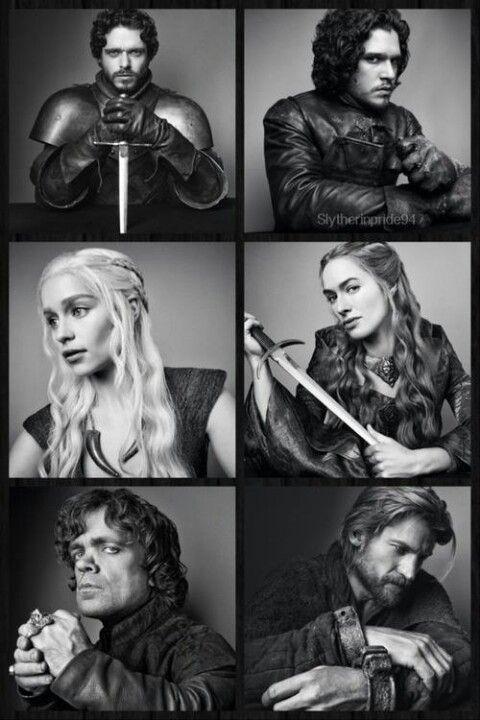 Game Of Thrones Robb Stark And Jon Snow