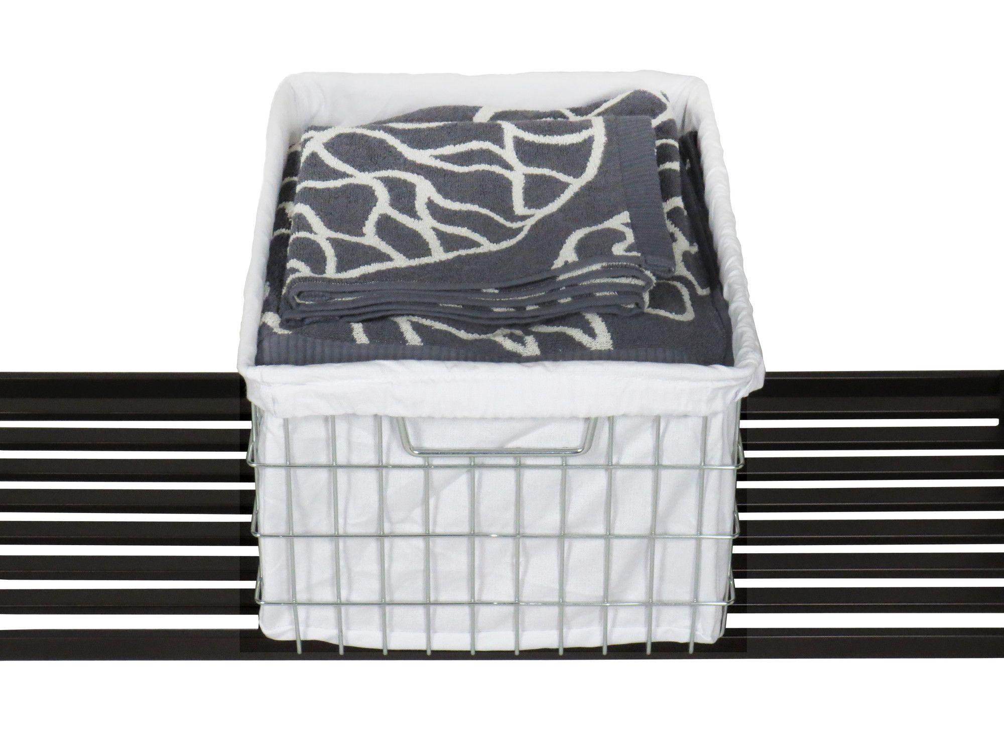 EcoStorage™ Wire Basket with Cover | Wayfair.ca