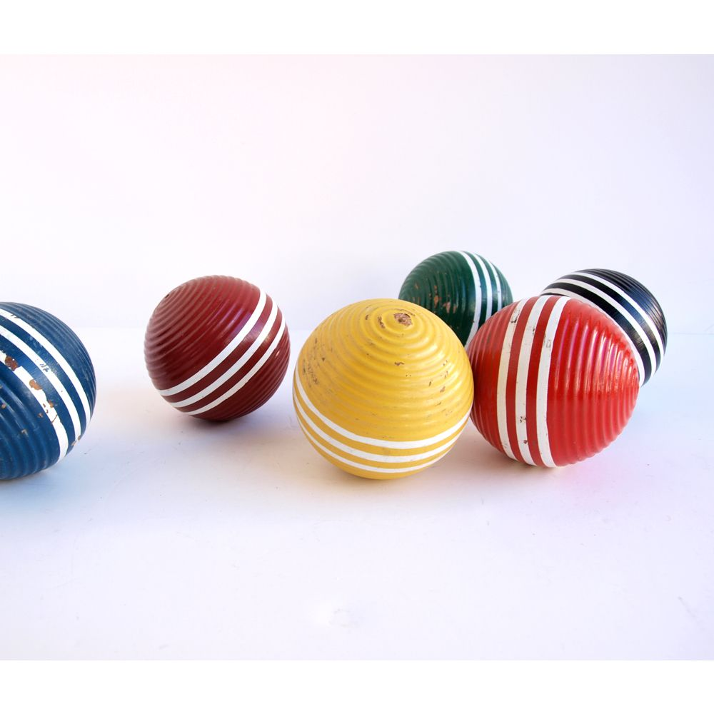 Set of Croquet Balls - 3 - Pick Your Own Colors      https://www.etsy.com/listing/81992029/set-of-croquet-balls-3-pick-your-own