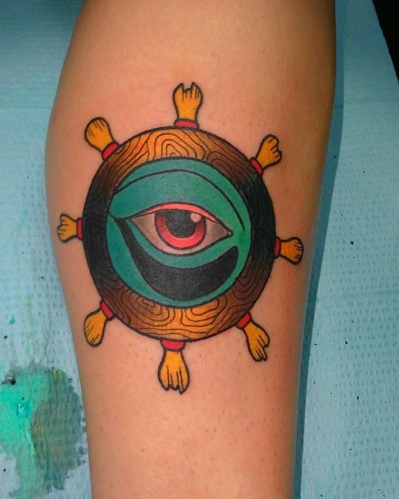 Augen Tattoo Design - Bedeutung und 33 tolle Beispiele - Tattoos ... - Auge Tattoo Bedeutung