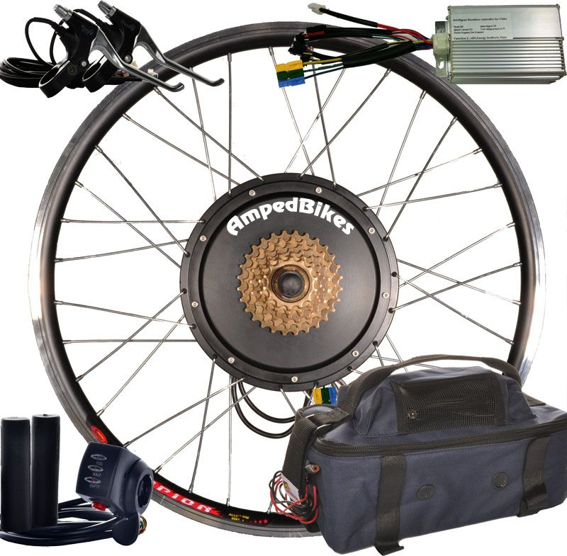 387fe2f28ad01fae2ffcfcf84639cd5e ampedbikes electric bicycle rear wheel conversion kit $475 (lead  at gsmx.co