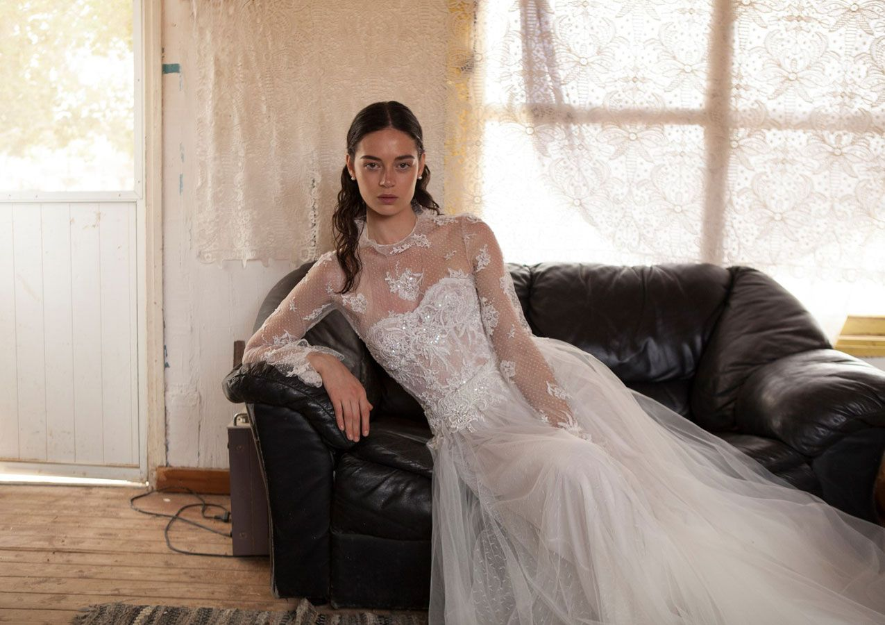 Special bridal editorial by Livné White 2019 bridal collection, 'Eden' #weddingdress #weddinggown #bridedress #bride #bridalgown #bridedress