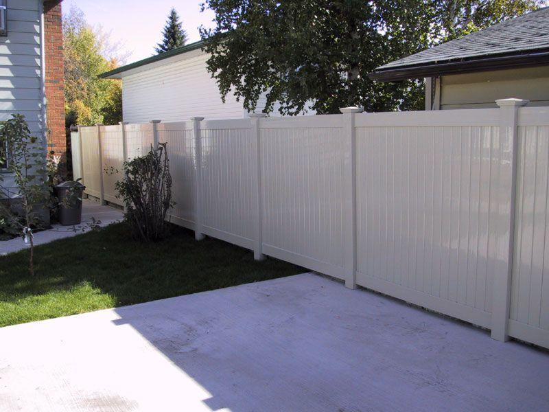 Vinyl PVC Fence #Fence #fences #fencing