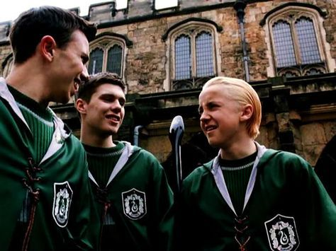 Slytherin Quidditch Team Harry Potter Draco Malfoy Draco Harry Potter Slytherin Harry Potter