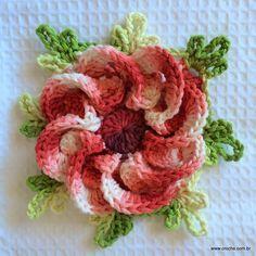 FLOR SEGREDO - http://www.croche.com.br/flor-segredo-passo-a-passo/